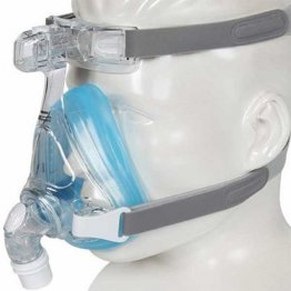 Amara Full Face CPAP Mask without Headgear, Gel