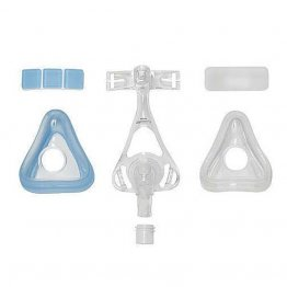 Amara Full Face CPAP Mask Starter Kit, Gel and Silicone Cushions