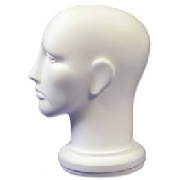 White Plastic Head