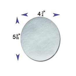 Disposable White Fine Filters for Respironics Remstar, Remstar Choice, Remstar Choice LS (6 Pack)